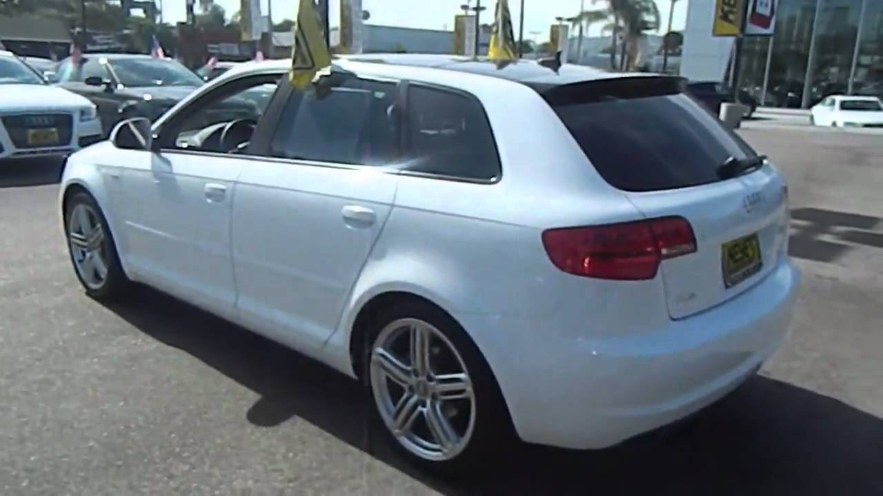 2009 audi a3 2 0t wagon 4d los angeles ca 320228 youtube. Black Bedroom Furniture Sets. Home Design Ideas