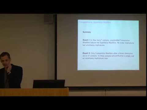 Plurality and Implicature, SOAS, University of London