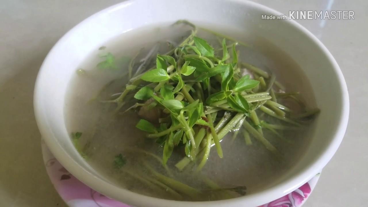 សម្លរកញ្ឆែតឆ្អឹងជ្រូក / Soup Pork Bones water Milong / Khmer Food / សម្លរម្ជូរកញ្ឆែតឆ្អឹងជ្រូក
