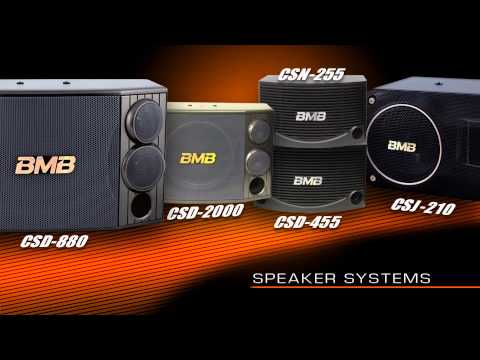 BMB Amplifiers and Speakers