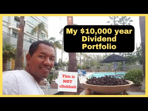 $10,000 a year Dividend Stock Portfolio (Passive Income Opportunities)