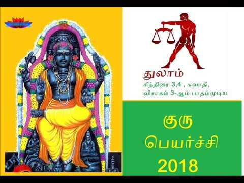 Guru peyarchi 2017-2018  Thulam Rasi   குரு பெயர்ச்சி  2017-2018  துலாம் ராசி