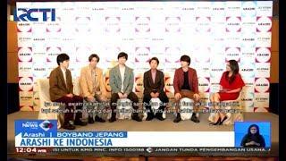 20 Tahun Berkarya, Boyband Legendaris Arashi Asal Jepang Gelar Jumpa Fans di Jakarta - SIS 11/11