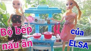 ? HỌC VIỆN BÚP BÊ _Tập 2_ Búp Bê ELSA và bộ đồ chơi Nhà Bếp mới