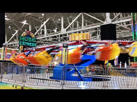 2017 IX Indoor Amusement Park - Opening Day (Cleveland, OH)