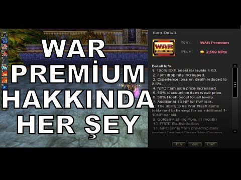 WAR PREMİUM HAKKINDA HER ŞEY - PREMİUM REHBERİ #4