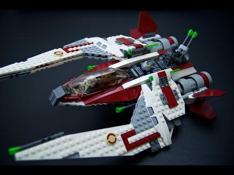 LEGO Star Wars 75051 Jedi Scout Fighter - Build