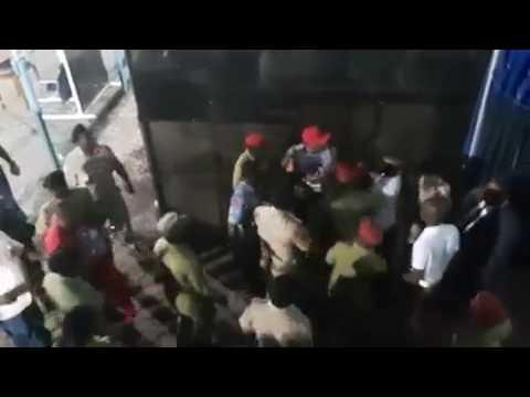 Fujo baada ya mechi kati ya Azam F.C. na Mbabane Swallows kumalizika | 12/3/2017 |