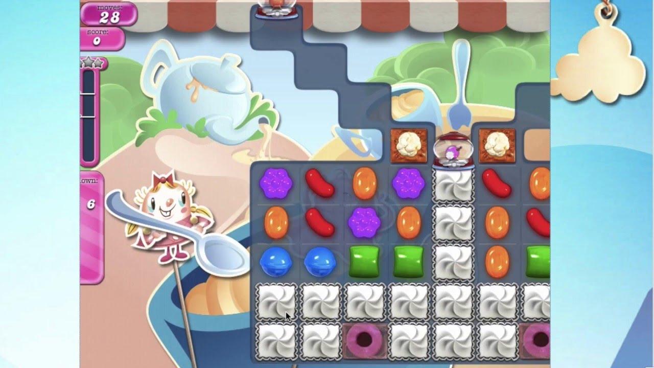 Candy crush saga level 1600 no booster perfect game - 1600 candy crush ...