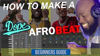 FREE DOWNLOAD 🔥🔥🔥 AFROBEAT SESSION PROJECT FILE   HOW MAKE DOPE AFROBEATS   LOGIC PRO X TUTORIAL