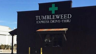 Drive-Thru Weed Dispensary Opening in Colorado