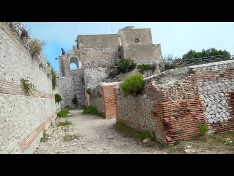 Tiberius  Palace Villa on CAPRI Island  Mountain Top in Italy Historical Tour