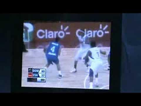 el salvador centrobasket 2008.