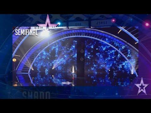 Shado, el carterista, aterroriza al jurado con sus robos   Semifinal 2   Got Talent España 2018