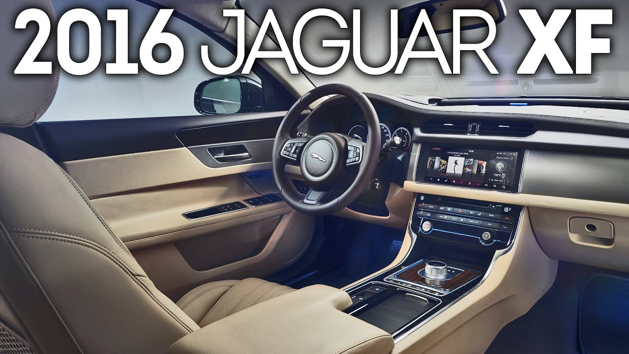 2016 jaguar xf - interior - youtube