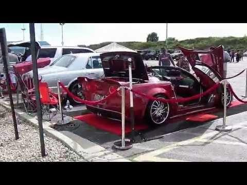 South Suburban College..XTREME KUSTOM CAR-&-BIKE SHOW..8-7-16..Video #1