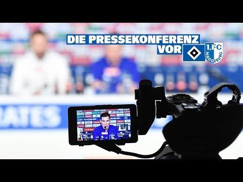 RELIVE: Die Pressekonferenz vor dem Spiel gegen den 1. FC Magdeburg