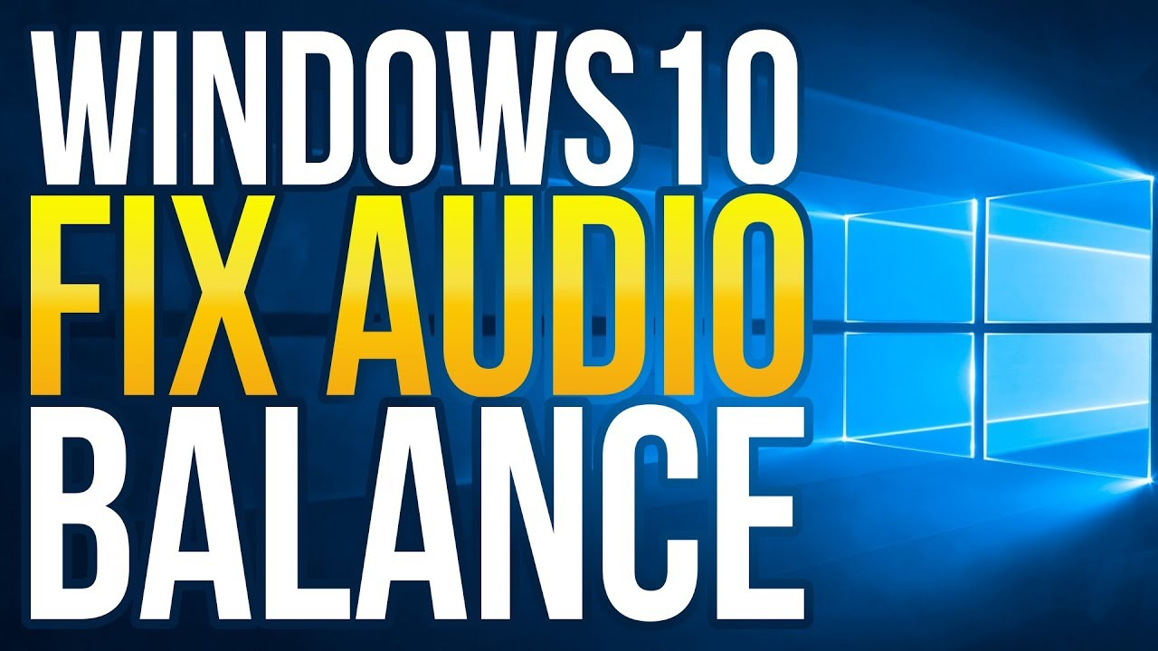windows 10 not saving sound settings
