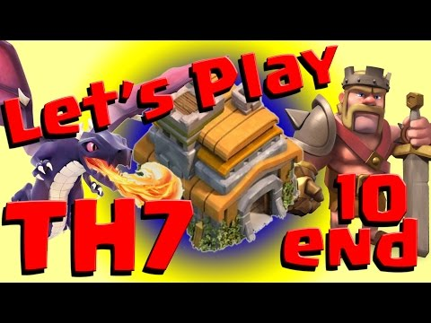 Clash Of Clans: Let's Play TH7 - Ep10 Maxing Our Base
