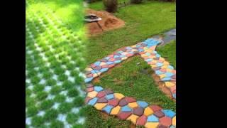видео Аллеи, дорожки. Виды покрытий | Ландшафтная архитектура и зеленое строительство