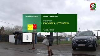 KSV Schriek - KFCE Zoersel