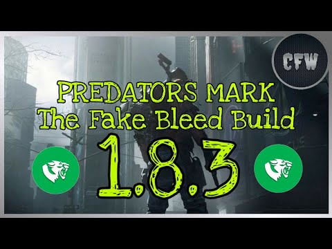 "The Division - Predators Mark ""Fake Bleed Build"" PVP 1.8.3"