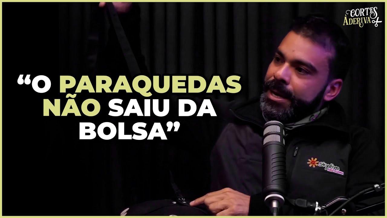QUASE MORRER SALTANDO DE PARAQUEDAS