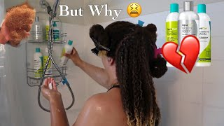 DEVA CURL RIPPED MY HAIR OUT! Full Wash Day & Wash and Go |  Natural Hair