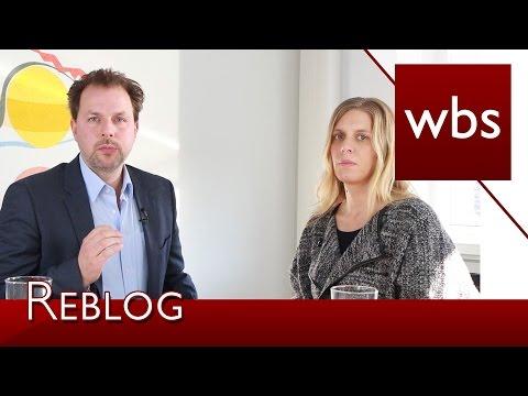 Im Interview: Ricarda Nieswandt über das Reblogging   Rechtsanwalt Christian Solmecke