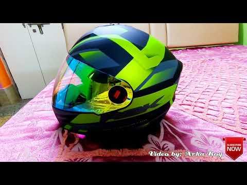 e0e0ea11 Steelbird SBA 1 R2K Helmet with Night Vision Visor - Unboxing in 4K -  YouTube