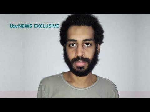 ITV News obtains exclusive first photo of Islamic State 'Beatle' Alexanda Kotey in detention