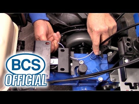 Replacing the Clutch Cable on a STANDARD BCS Tractor