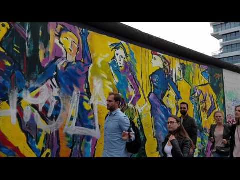 East Side Gallery Berlin 30 06 2017