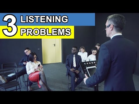 The 3 Listening Problems Of English Language Learners - And How To Solve Them
