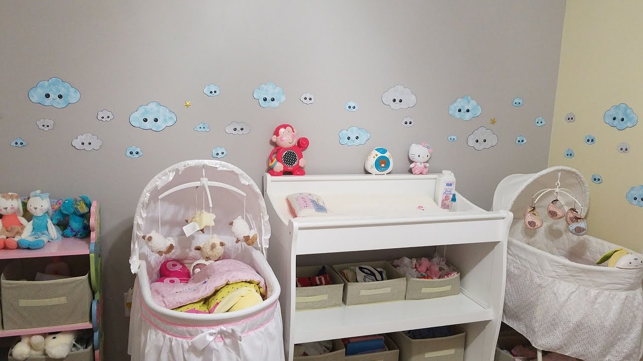Habitaci n para beb reborn room tour por la habitaci n de mis beb s reborn youtube - Vinilos para habitaciones de bebes ...