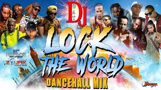 DANCEHALL MIX OCTOBER 2020 DJ GAT LOCK THE WORLD MIX MAVADO VYBZ KARTEL ALKALINE INTENCE MASICKA
