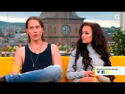 PelleK & Sophie Elise Interview God Sommer Norge - 07.07.2015