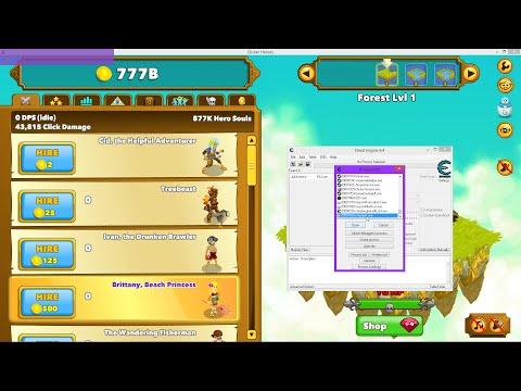 Clicker Heroes Cheat/Hack  -  Rubine, Hero Souls, Gold, Gilds, Erfolge Und Vieles Mehr