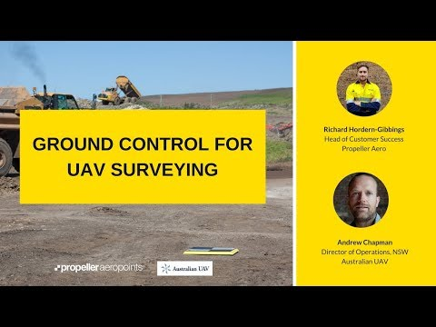 Ground Control for UAV Surveying