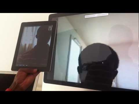 WebRTC SIP video call between Chrome and iPad
