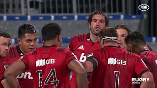 2018 Super Rugby Round 19: Crusaders vs Blues