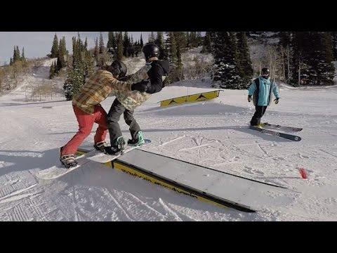 Creative Snowboarding