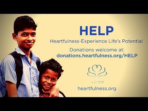 HELP: Enabling teachers and students to live a balanced & purposeful life through  Heartfulness