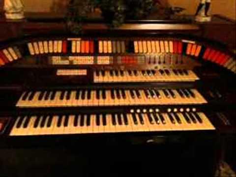 Kimball Christmas Organ Xanadu J900 & Enterprise W70