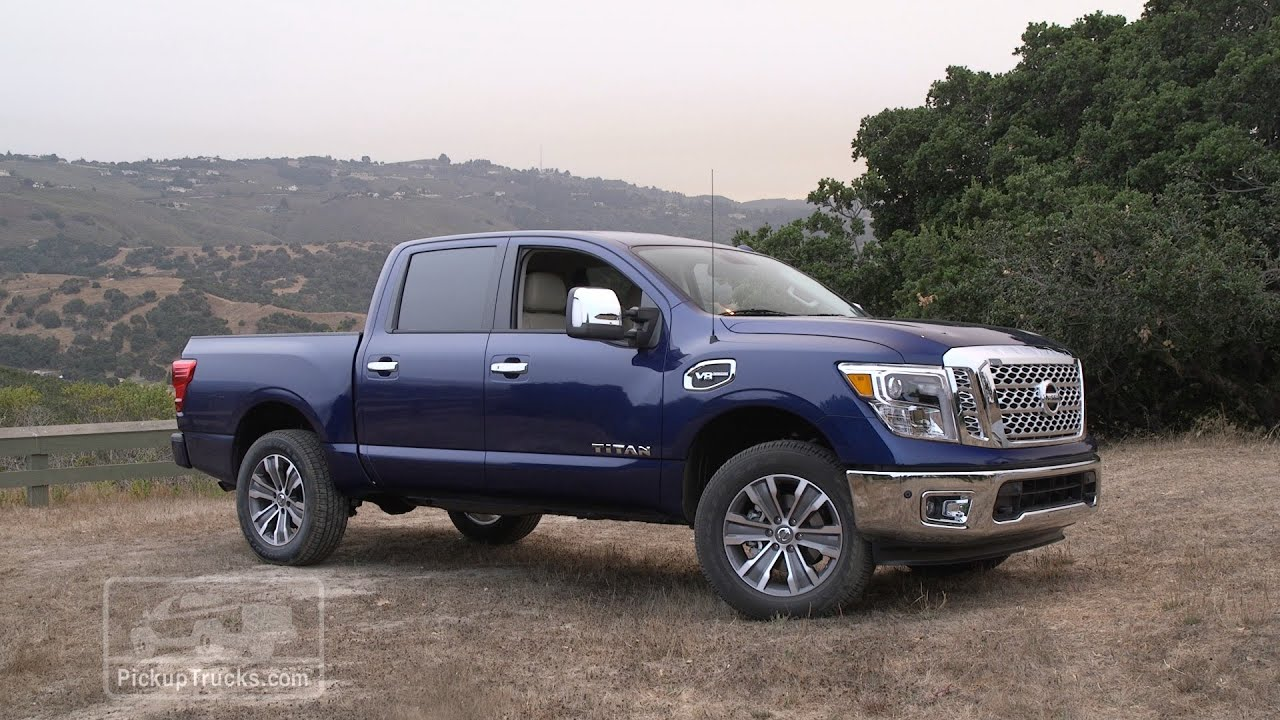 2017 nissan titan first drive youtube. Black Bedroom Furniture Sets. Home Design Ideas