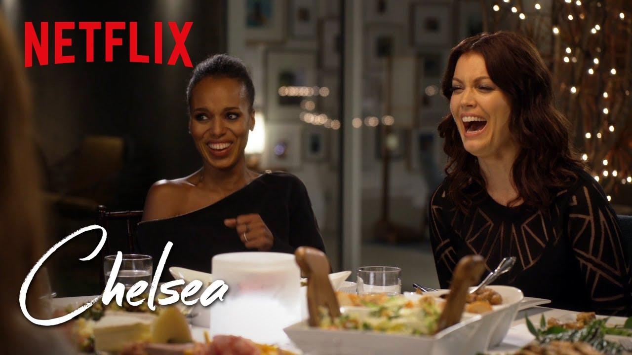 Kerry Washington on Scandal Sex Scenes   Chelsea   Netflix