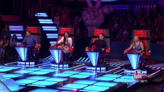 David Rodriguez, La Camisa Negra by Juanes -- The Voice of Armenia – The Blind Auditions – Season 3 thumbnail