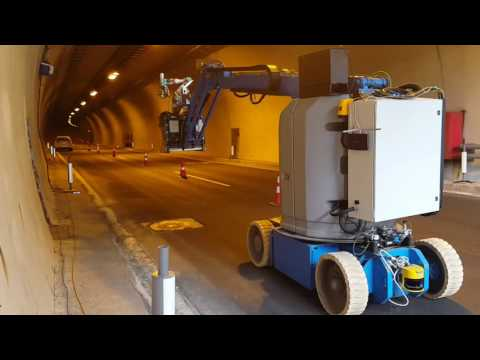 ROBO-SPECT: Robotic System for tunnel structural inspection & evaluation