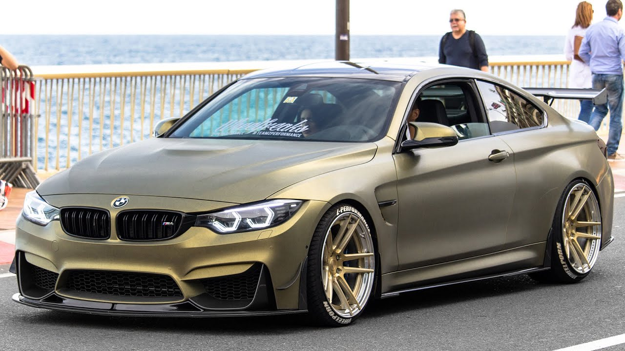 BMW M4 COUPE by Z PERFORMANCE REVIEW REV BATTLE and POWERSLIDES