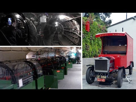Postal Museum - Riding MailRail - More